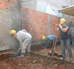 Habitat work in Brazil